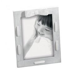Cornice Fotografica foto 10 x 15 portafoto Mascagni in legno con decoro -a498