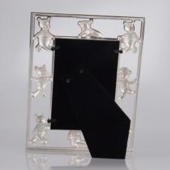 Cornice Fotografica Mascagni Portafoto in metallo con Orsetti