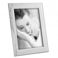 Cornice Fotografica 13x18 Mascagni A506 portafoto in Metallo con cristalli