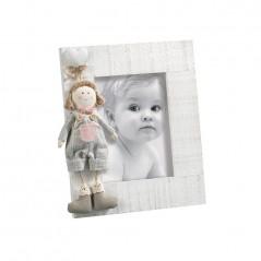 Cornice Fotografica per 2 foto 10 x 15 portafoto Mascagni Rosa -m378-2