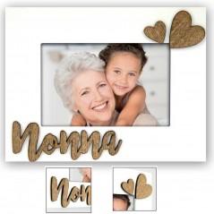 Cornice portafoto in legno Nonna per foto 10x15