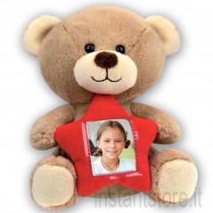 Portafoto Peluche Teddy Cornice pupazzo San Valentino
