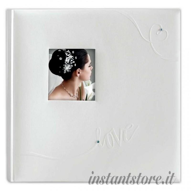 Album Fotografico Classico Linda 30 fogli 32x32 Portafoto carta velina