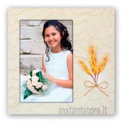 Cornice fotografica 10x15 per comunione Portafoto Nives