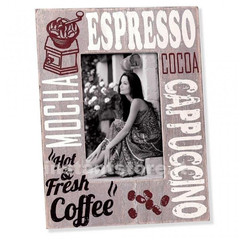 Cornice fotografica 13x18 Zep in legno portafoto Espresso -hh8257