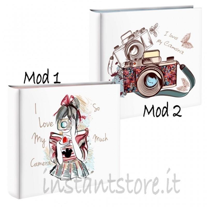 Album Fotografico 100 foto 13x19 13x18 Portafoto Mascagni s478 love my camera