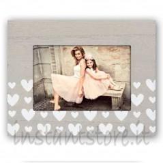 Cornice Fotografica 10x15 Portafoto Tessa O. con cuori
