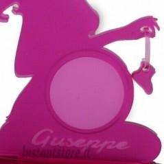 Porta ecografia donna incinta personalizzata in plexiglass con foto - Hand Made