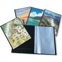 Album fotografico Alison Portafoto con carta velina 20 fogli 24x24