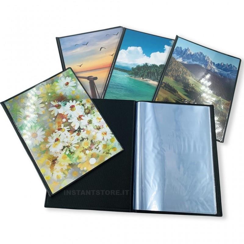 25 mini album a tasche 15x21 per foto 15x20 raccoglitore totale 900 foto