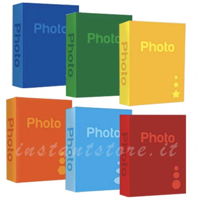 Album fotografico Basic 200 foto 13x19 13x18 bs57200 a tasche con memo