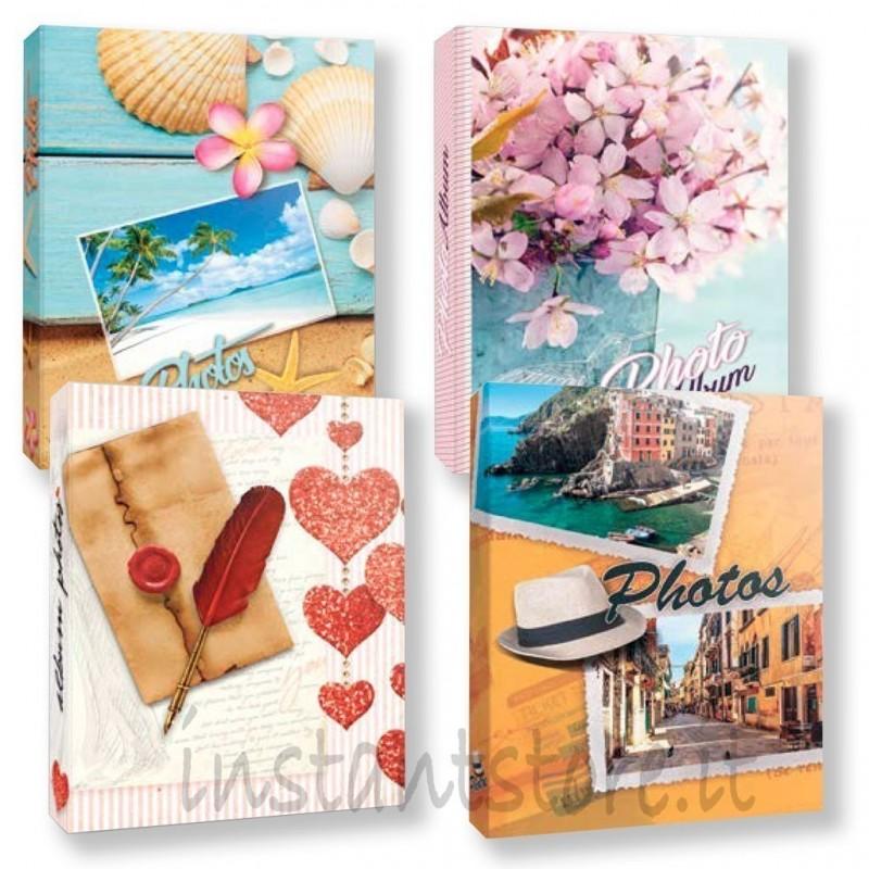 """Album fotografico """"carta New"""" 200 foto 13x18 13x19 Av57200 a tasche con memo"""