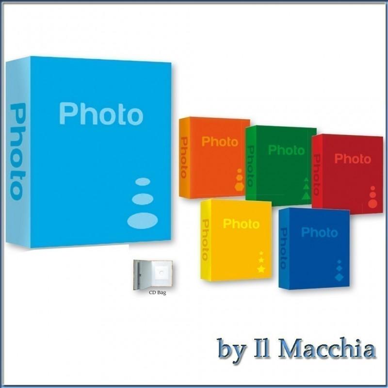 Album Fotografico 200 foto 10x15 11x16 portafoto basic bs46210