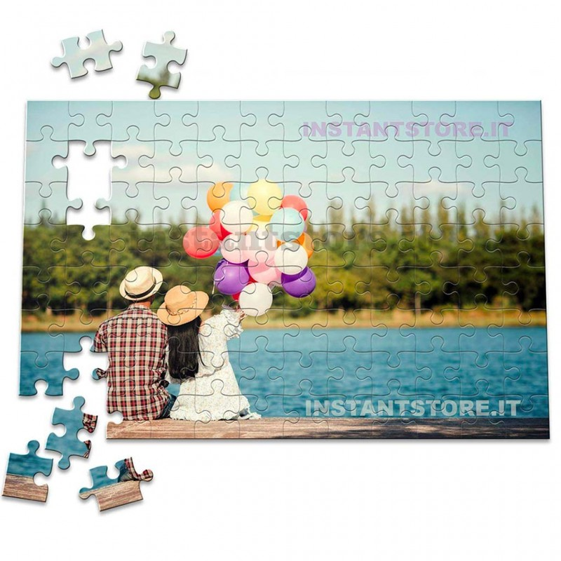 Puzzle personalizzato con foto formato A4 20x30 cm circa 192 tasselli