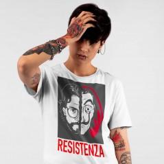 T-Shirt La casa di carta IL PROFESSORE RESISTENZA maglietta La casa de Papel