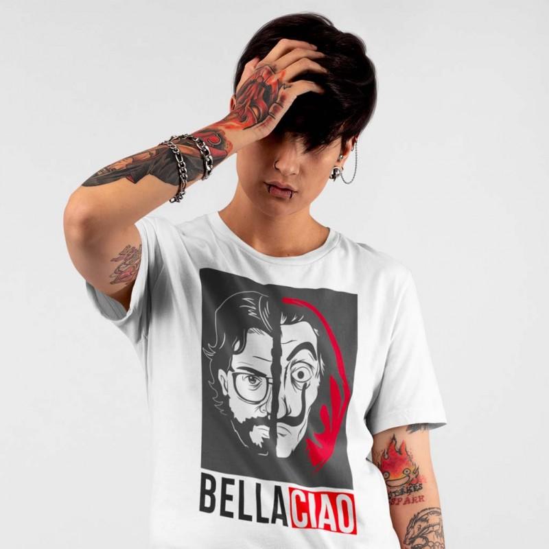 T-Shirt La casa di carta il Professore Bella Ciao maglietta La casa de Papel