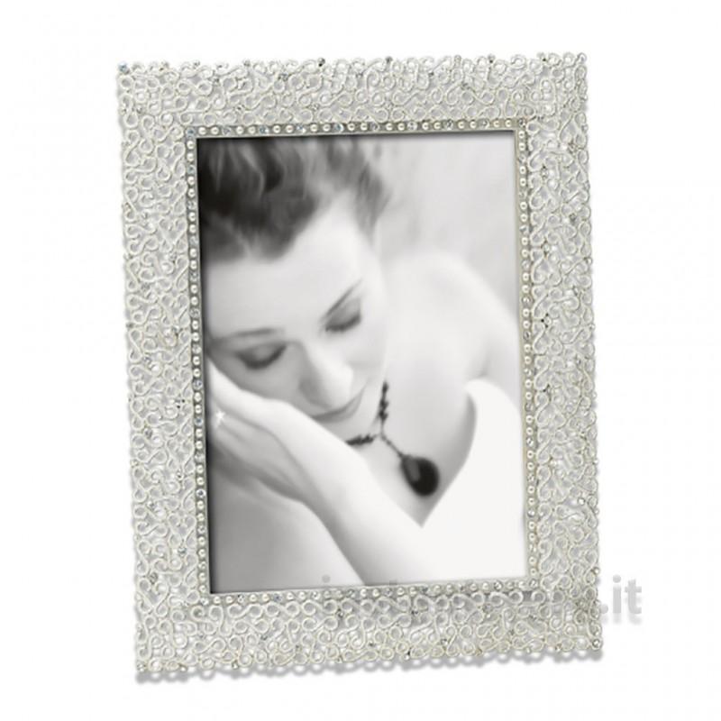 Cornice Fotografica 10x15 Mascagni Portafoto m269 in Metallo satinato