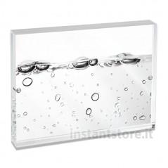 Cornice Fotografica 10x15 Trasparente con magneti portafoto Mascagni m215