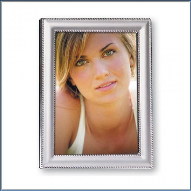 Cornice Fotografica 15x20 Silver plated Portafoto 22ass22-6r