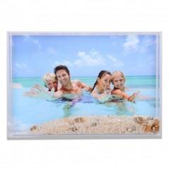 Cornice Fotografica 10x15 portafoto con sabbia e conchiglie